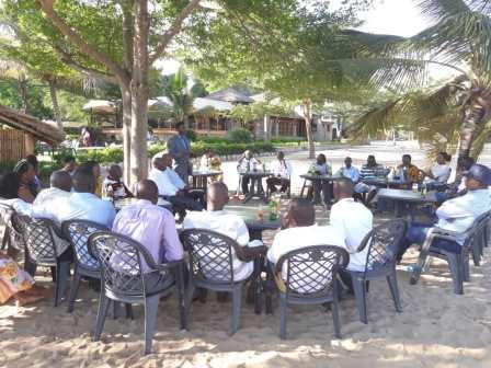 Commémoration de la fête de l'Indépendance du Burundi par le personnel de COPED