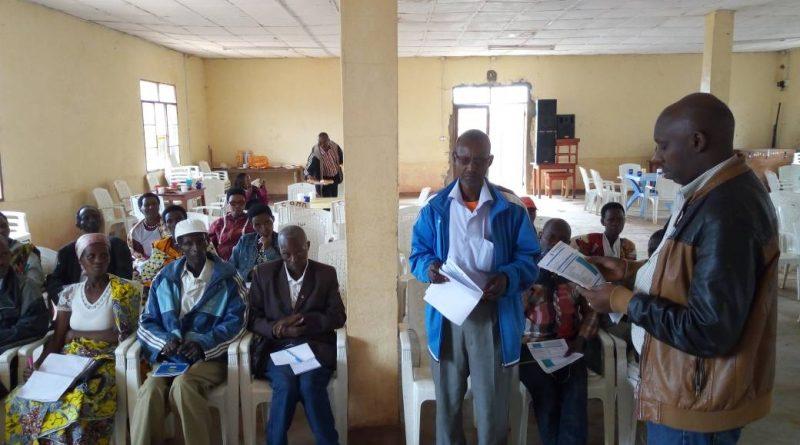 Formation des ASC sur le paludisme District sanitaire Rwibaga