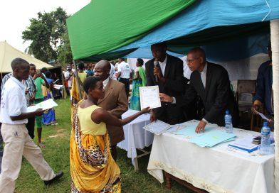Cérémonies de remise de certificats aux femmes maçonnes à Rumonge