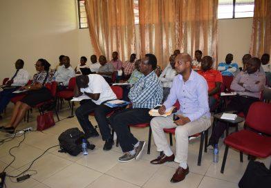 Atelier de formation des formateurs sur le manuel de procédures administratives, comptables et financières